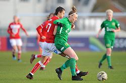 Rosella Ayane of Bristol City in action - Mandatory by-line: Nizaam Jones/JMP - 27/01/2019 - FOOTBALL - Stoke Gifford Stadium - Bristol, England - Bristol City Women v Yeovil Town Ladies- FA Women's Super League 1