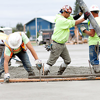 Concrete pouring, commercial concrete pour, Commercial photography, construction photography, Tucson, Phoenix
