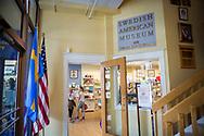 Entr&eacute;n till The Swedish American Museum, Andersonville, Chicago, Illinois, USA<br /> <br /> Muse&eacute;t grundades 1976 av Kurt Mathiasson.<br /> <br /> Foto: Christina Sj&ouml;gren