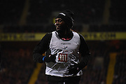 Emmanuel Adebator makes his first footsteps at Selhurst during the Barclays Premier League match between Crystal Palace and Bournemouth at Selhurst Park, London, England on 2 February 2016. Photo by Michael Hulf.