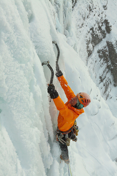 Ice Climbing Murchison Falls Banff National Park