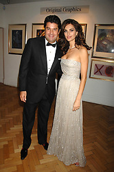TASHA DE VASCONCELOS and TIM MOUFFARIGE at Andy & Patti Wong's Chinese new Year party held at County Hall and Dali Universe, London on 26th January 2008.<br />