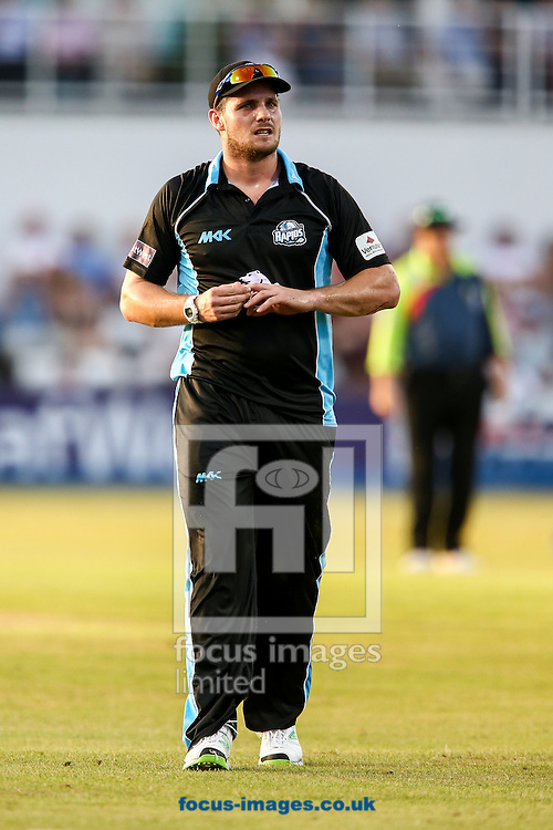 Mitchell McClenaghan of Worcestershire Rapids during the Natwest T20 Blast match at the County Ground, Northampton<br /> Picture by Andy Kearns/Focus Images Ltd 0781 864 4264<br /> 18/07/2014