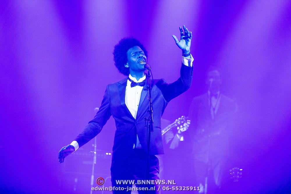NLD/Amsterdam/201702013- Edison Pop Awards 2017, Jeangu Macrooy
