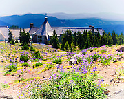 The Timberline Lodge at Mount Hood, Oregon