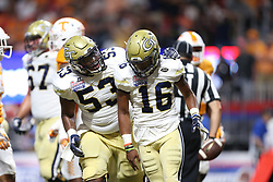 during the 2016 Chick-fil-A Kickoff Game on Saturday, Sep. 3, 2016, in Atlanta. (Chris Collins for Dawgs247)