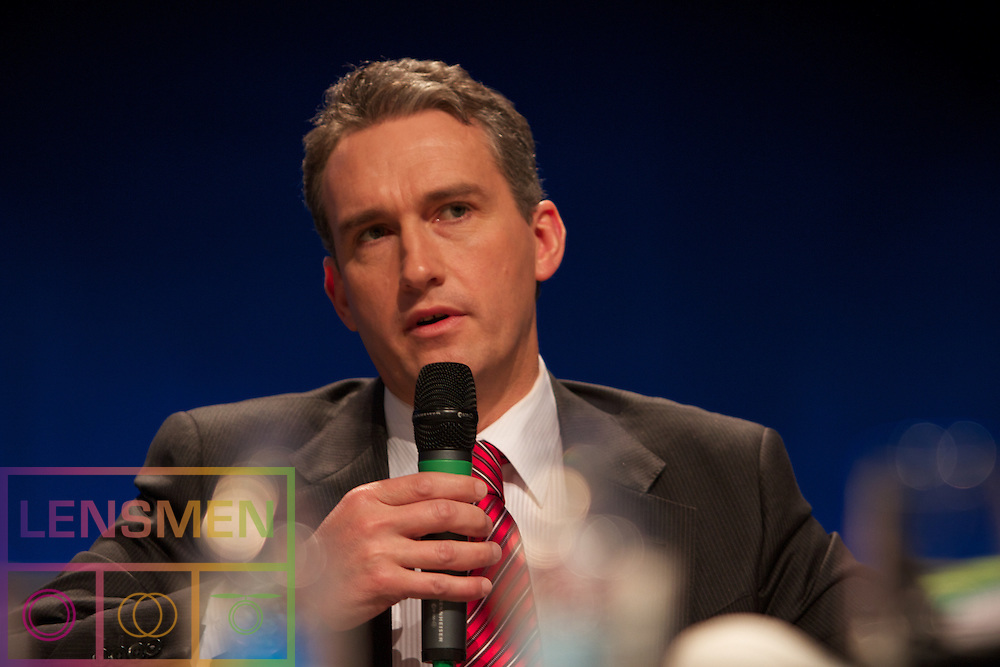 The Fine Gael Ard Fheis in the Convention Centre Dublin, Ireland. 31th March 2012