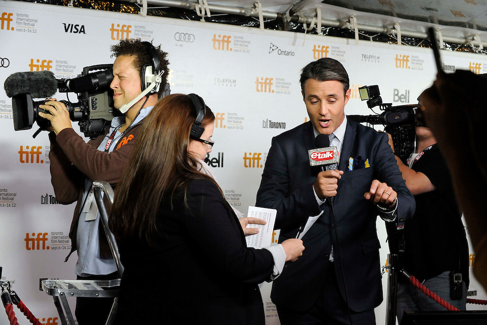 TIFF  2012  - Day4 Red Carpet - Company you Keep<br /> <br /> Jackie Evancho / Anna Kendrick / Robert Redford
