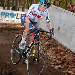 04-11-2018: Wielrennen: EK veldrijden: Rosmalen: Maddie Wadsworth