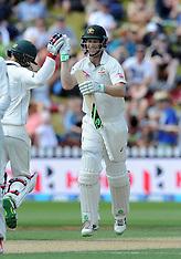 Wellington-Cricket, New Zealand v Australia, 1st test, day 3