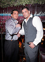 NEW YORK, NY - APRIL 13:  Carmine Agnello Jr. & Frank Gotti Agnello attend Frank Gotti's 21st birthday celebration at Greenhouse on April 13, 2011 in New York City.  (Photo by Dave Kotinsky/Getty Images)