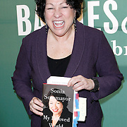 Sonia Sotomayor Signs @ Barnes & Noble