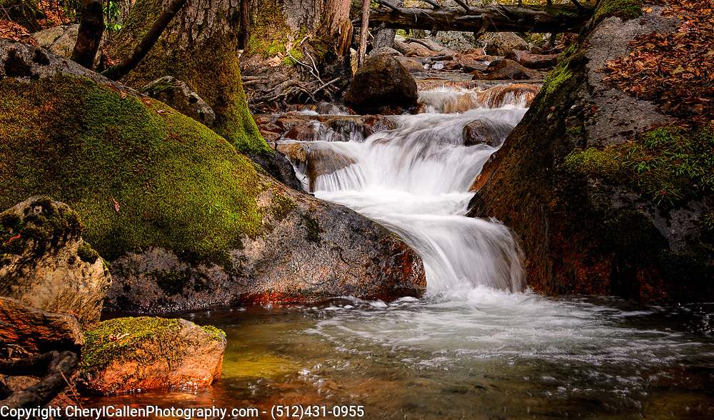 Mountain stream in Yosemite National Park
