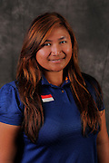 Agnes Sudjasmin during portrait session prior to the second stage of LPGA Qualifying School at the Plantation Golf and Country Club on Oct. 6, 2013 in Vience, Florida. <br /> <br /> <br /> ©2013 Scott A. Miller