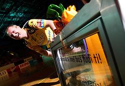 Eduard Koksarov of Celje PL during his farewell ceremony after the handball match between RK Celje Pivovarna Lasko and Trimo Trebnje of last Round of 1st Slovenian Handball league, on May 27, 2011 in Arena Zlatorog, Celje, Slovenia. Celje defeated Trimo 32-28 and win 3rd place in Slovenian National Championship. (Photo By Vid Ponikvar / Sportida.com)