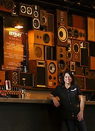 Staff Photo by Dan Henry / The Chattanooga Times Free Press- 8/10/16. Monica Kinsey stands in the Revelry Room on Wednesday, August 10, 2016. Kinsey is the owner and general manager of the Revelry Room and Track 29 music venues.