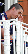 Photo © ANDREW FOSKER / SECONDS LEFT IMAGES 2008  - On the Balcony  Kevin Pietersen frowns as things don't quite go to plan on his debut as captain - England v New Zealand Black Caps - 5th ODI - Lord's Cricket Ground - 28/06/08 - London -  UK - All rights reserved