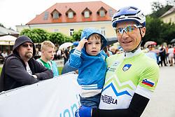 Jani Brajkovic during Stage 4 of 23rd Tour of Slovenia 2016 / Tour de Slovenie from Rogaska Slatina to Novo mesto (165,5 km) cycling race on June 19, 2016 in Slovenia. Photo by Vid Ponikvar / Sportida