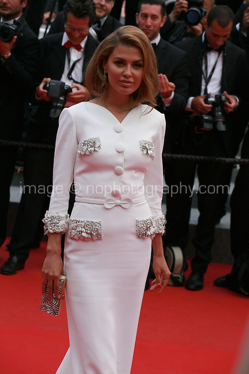 Viktoria Bonya at the Closing ceremony and premiere of La Glace Et Le Ciel at the 68th Cannes Film Festival, Sunday 24th May 2015, Cannes, France.