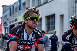 Roy Curves (NED) of Team Giant - Alpecin, Velodrome, Roubaix, Paris-Roubaix, UCI WorldTour, France, 12 April 2015, Photo by Pim Nijland / PelotonPhotos.com