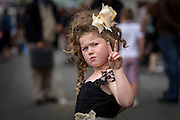 15-8-15<br /> <br /> Annabella Moorehouse aged 5 from Wicklow pictured at the annual Borris Horse Fair in Borris Co. Carlow over the weekend.<br /> <br /> <br /> Picture Dylan Vaughan.