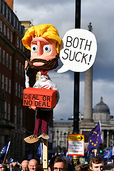 Brexit People's Vote march, London 19 October 2019 UK