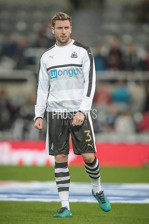 Paul Dummett (Newcastle United) before the EFL Cup 4th round match between Newcastle United and Preston North End at St. James's Park, Newcastle, England on 25 October 2016. Photo by Mark P Doherty.