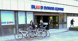 Pictured: <br /> <br /> The days of giving blood as a frightening experience are long gone with donors welcomed by the Blood Transfusion Service (BTS) with calm efficiency and refereshment as a thank you.  <br /> BTS need to welcome approximately 450 donors every day, and endeavour to encourage everyone to donate and support patients in Scotland.<br /> <br /> Each donor provides slightly less than a pint  – 380 mls - of one of the eight different blood groups.  The BTS  need 5-7 days supply at all times to be able to cope with demand.<br /> <br /> <br /> Ger Harley   EEm 7 February 2018