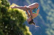 DALLAPE Francesca ITA<br /> Bolzano, Italy <br /> 22nd FINA Diving Grand Prix 2016 Trofeo Unipol<br /> Diving<br /> Women's 3m springboard preliminaries <br /> Day 02 16-07-2016<br /> Photo Giorgio Perottino/Deepbluemedia/Insidefoto