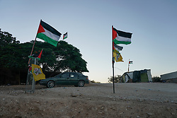 Khan Al-Ahmar, a Bedouin settlement under threat of eviction and demolition by the Israeli authorities. From a series of travel photos taken in Jerusalem and nearby areas. Photo date: Wednesday, August 1, 2018. Photo credit should read: Richard Gray/EMPICS