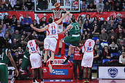 DESCRIZIONE : Pesaro Lega A 2012-13 Scavolini Banca Marche Pesaro Montepaschi Siena<br /> GIOCATORE : Viktor Sanikidze<br /> CATEGORIA : schiacciata<br /> SQUADRA : Scavolini Banca Marche Pesaro Montepaschi Siena<br /> EVENTO : Campionato Lega A 2012-2013 <br /> GARA : Scavolini Banca Marche Pesaro Montepaschi Siena<br /> DATA : 18/02/2013<br /> SPORT : Pallacanestro <br /> AUTORE : Agenzia Ciamillo-Castoria/C.De Massis<br /> Galleria : Lega Basket A 2012-2013  <br /> Fotonotizia : Pesaro Lega A 2012-13 Scavolini Banca Marche Pesaro Montepaschi Siena<br /> Predefinita :