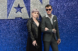 May 20, 2019 - London, England, United Kingdom - (L-R) Kelly Osbourne and Jimmy Q arrive for the UK film premiere of 'Rocketman' at Odeon Luxe, Leicester Square on 20 May, 2019 in London, England. (Credit Image: © Wiktor Szymanowicz/NurPhoto via ZUMA Press)