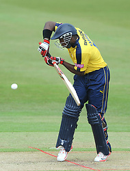 Michael Carberry of Hampshire  - Photo mandatory by-line: Dougie Allward/JMP - Mobile: 07966 386802 - 14/07/2015 - SPORT - Cricket - Cheltenham - Cheltenham College - Natwest T20 Blast