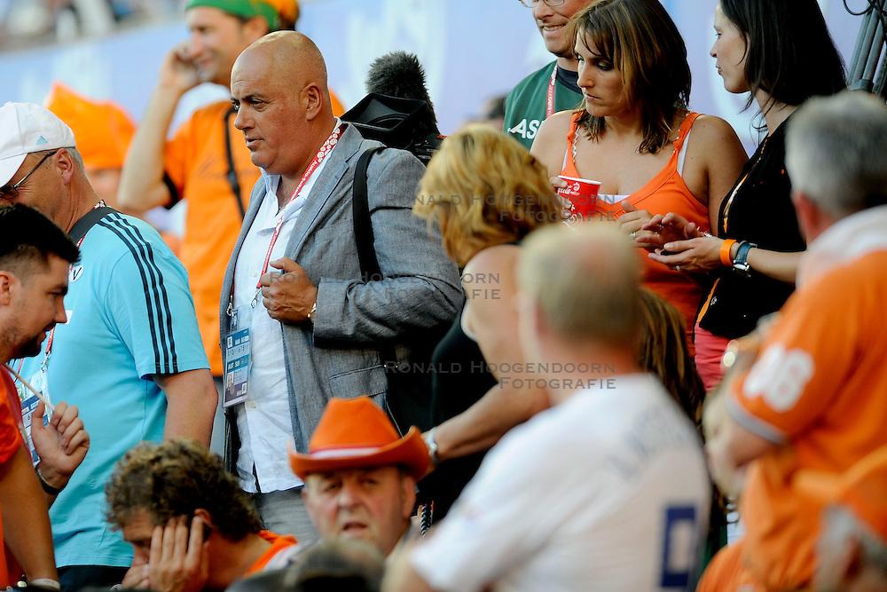 21-06-2008 VOETBAL: EURO 2008 NEDERLAND - RUSLAND: BASEL<br /> Nederland verliest in de verlenging met 3-1 van Rusland / Media Pers Jack van Gelder<br /> &copy;2008-WWW.FOTOHOOGENDOORN.NL