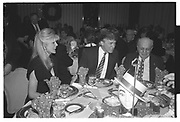Marla Maples,  Donald Trump, Joey Adams,, Imelda Marcos. Joey Adams party. New York. 7/1/90.