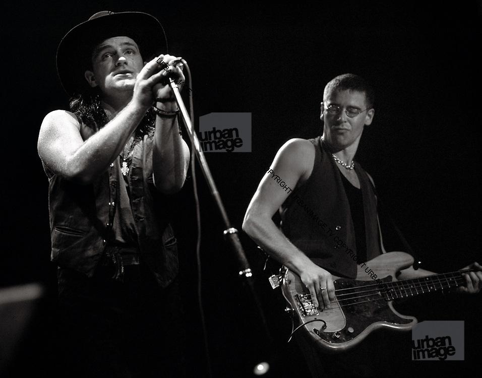 Bono and the Edge in concert - Wembley Stadium - Joshhua