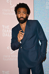 September 13, 2018 - New York, NY, USA - September 13, 2018  New York City..Donald Glover attending the 4th Annual Clara Lionel Foundation Diamond Ball on September 13, 2018 in New York City. (Credit Image: © Kristin Callahan/Ace Pictures via ZUMA Press)