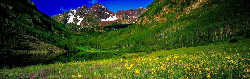 Maroon Bells, Aspen, Colorado USA