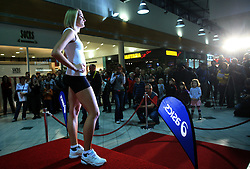 Sabina Veit at fashion show of new jerseys of Slovenian Athletic National Team, on October 28, 2008, in Mercator center Siska, Ljubljana, Slovenia. (Photo by Vid Ponikvar / Sportal Images).