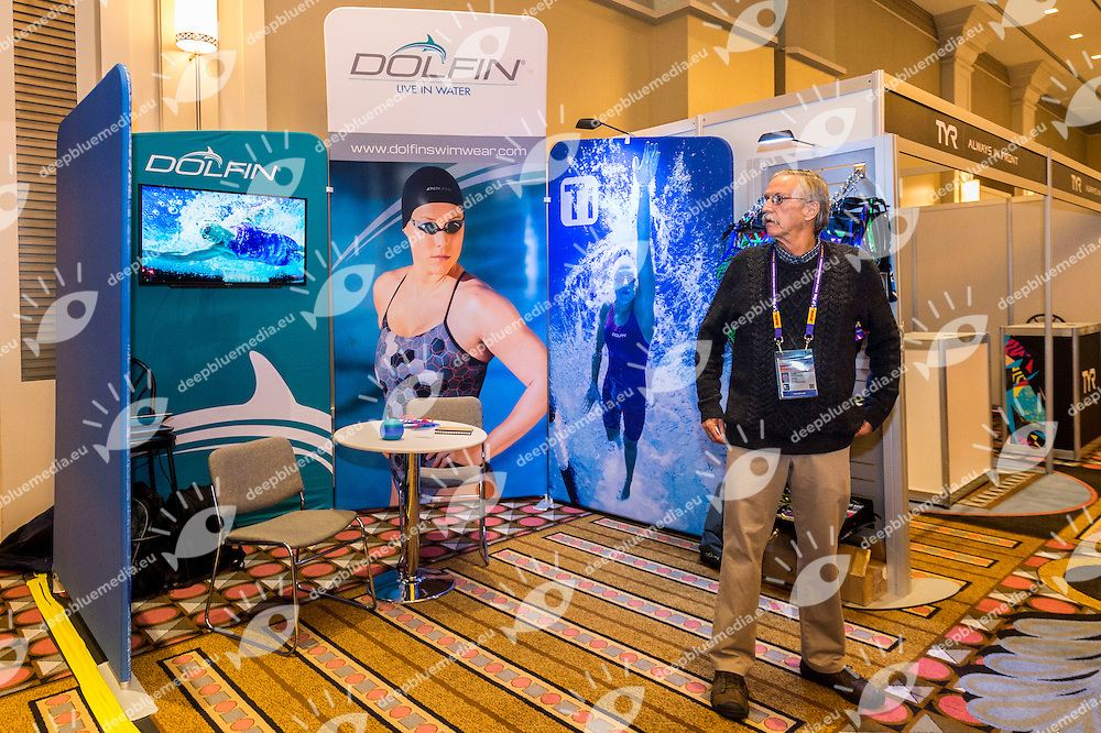 Dolfin<br /> FINA 4th World Aquatics Convention<br /> Exibition Windsor  Dec. 3rd, 2016<br /> Caesar's Casino - Windsor Ontario Canada CAN <br /> 20161203 Caesar's Casino - Windsor Ontario Canada CAN <br /> Photo &copy; Giorgio Scala/Deepbluemedia/Insidefoto