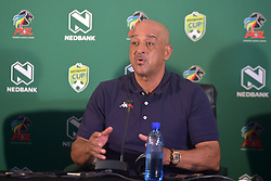 SOUTH AFRICA: JOHANNESBURG: Highlands Park head coach Owen Da Gama speak during the Nedbank cup press conference, Gauteng.<br /> Picture: Itumeleng English/African News Agency(ANA)<br /> 23.01.2019