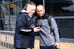 Dan Robson of Wasps meets fans - Mandatory by-line: Robbie Stephenson/JMP - 12/10/2019 - RUGBY - Ricoh Arena - Coventry, England - Wasps v Worcester Warriors - Premiership Rugby Cup