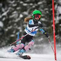 Girls Slalom 1st run - Cascade Cup 2013