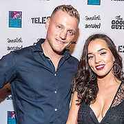 NLD/Rotterdam/20161102 - MTV Music Week Official Opening Party 2016, Kaj Gorgels en Bibi Breijman