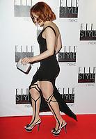 Katy B, ELLE Style Awards, The Savoy Hotel London UK, 11 February 2013, (Photo by Richard Goldschmidt)