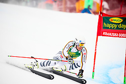 Alexander Schmid of Germany competes during 1st run of Men's GiantSlalom race of FIS Alpine Ski World Cup 57th Vitranc Cup 2018, on March 3, 2018 in Kranjska Gora, Slovenia. Photo by Ziga Zupan / Sportida