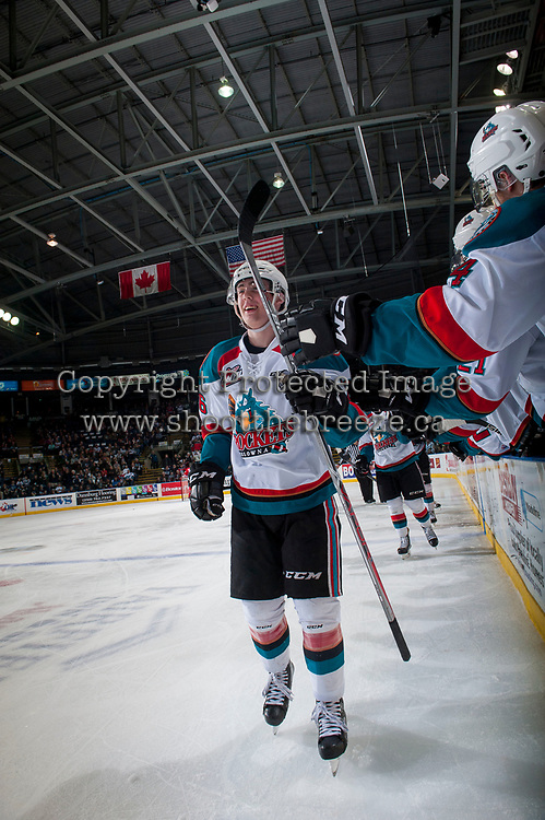 KELOWNA, CANADA - APRIL 7:  on April 7, 2017 at Prospera Place in Kelowna, British Columbia, Canada.  (Photo by Marissa Baecker/Shoot the Breeze)  *** Local Caption ***