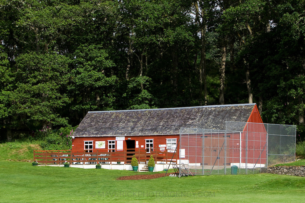 "General View of Strathtay Golf Club, club house...Strathtay Golf Club is like many small rural golf curses in Scotland which employ an ""honesty box"" system where golfers deposit money in a  box rather than go to the expense of hiring a full time person to collect green fees...Picture Michael Hughes/Maverick."