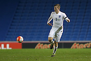 Matt Targett (Southampton), England U21 during the UEFA European Championship Under 21 2017 Qualifier match between England and Switzerland at the American Express Community Stadium, Brighton and Hove, England on 16 November 2015. Photo by Phil Duncan.