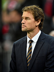 04.11.2015, Allianz Arena, Muenchen, GER, UEFA CL, FC Bayern Muenchen vs FC Arsenal, Gruppe F, im Bild TV-Experte Jens Lehmann nachdenklich // during the UEFA Champions League group F match between FC Bayern Munich and FC Arsenal at the Allianz Arena in Muenchen, Germany on 2015/11/04. EXPA Pictures © 2015, PhotoCredit: EXPA/ Eibner-Pressefoto/ Weber<br /> <br /> *****ATTENTION - OUT of GER*****